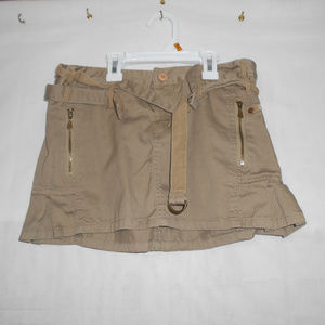billabong Women's/Junior's Cotton Khaki Tan Mini